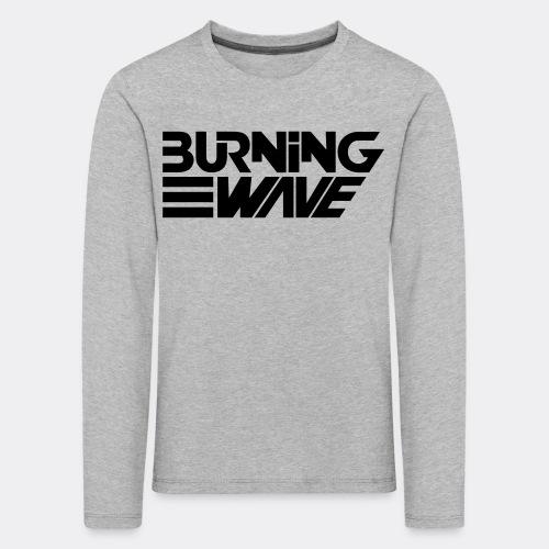 Burning Wave Block - T-shirt manches longues Premium Enfant