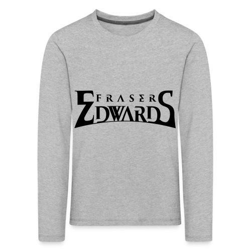 Fraser Edwards Men's Slim Fit T shirt - Kids' Premium Longsleeve Shirt