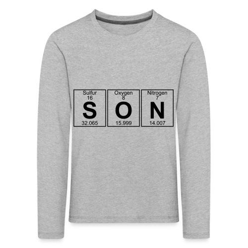S-O-N (son) - Kids' Premium Longsleeve Shirt