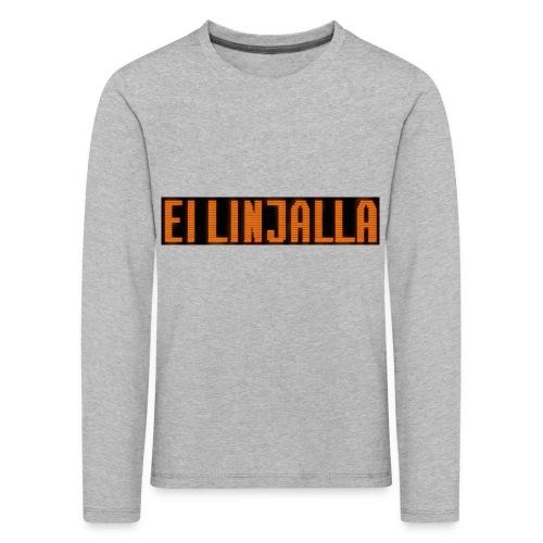 EI LINJALLA - Lasten premium pitkähihainen t-paita