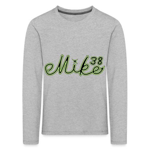 mike38teksti - Lasten premium pitkähihainen t-paita