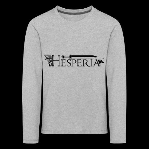 HESPERIA logo 2016 - Kids' Premium Longsleeve Shirt