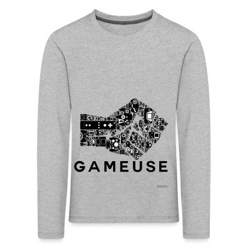 POING GAMEUSE - T-shirt manches longues Premium Enfant