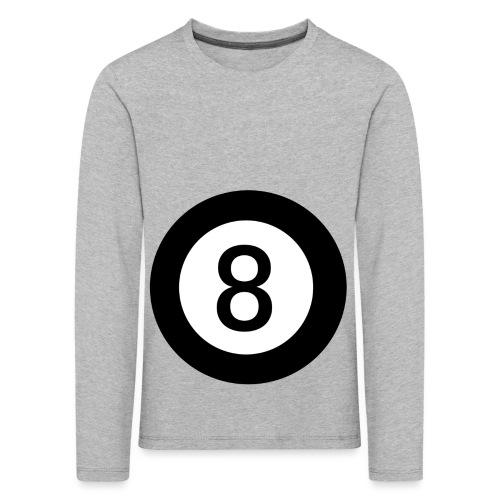Black 8 - Kids' Premium Longsleeve Shirt