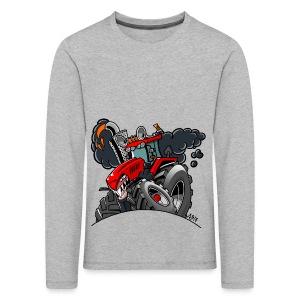 TRACTOR - Kinderen Premium shirt met lange mouwen