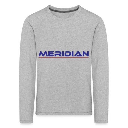 Meridian - Maglietta Premium a manica lunga per bambini