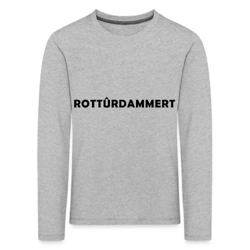 Rotturdammert - Kinderen Premium shirt met lange mouwen