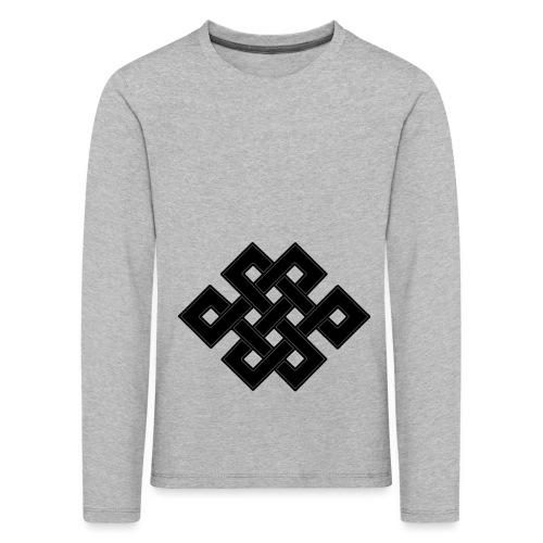 nodo buddha - Maglietta Premium a manica lunga per bambini