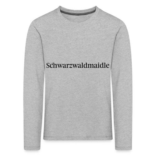 Schwarzwaldmaidle - T-Shirt - Kinder Premium Langarmshirt