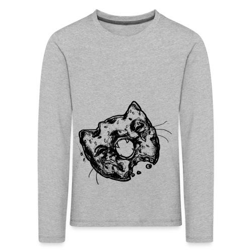 Dona Gato Negro - Camiseta de manga larga premium niño