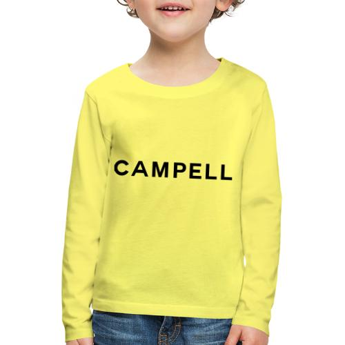 campell schriftzug2 - Kinder Premium Langarmshirt