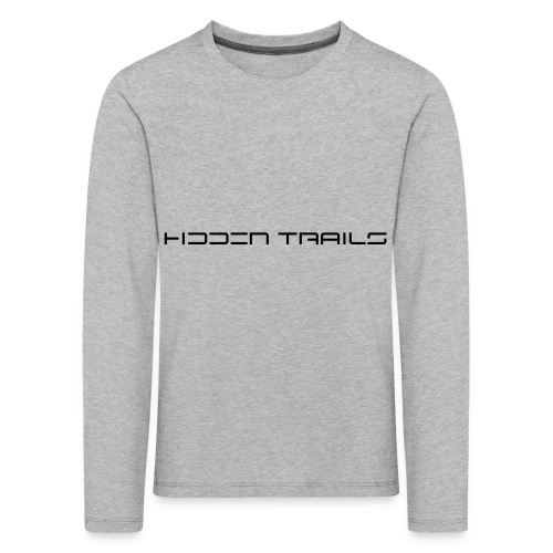 hidden trails - Kinder Premium Langarmshirt