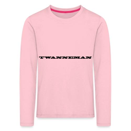 tmantxt - Kinderen Premium shirt met lange mouwen