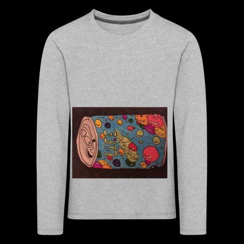7AABC614 53CA 4156 B765 D9FBF5B8E496 - Børne premium T-shirt med lange ærmer