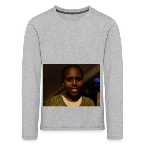 image - Premium langermet T-skjorte for barn