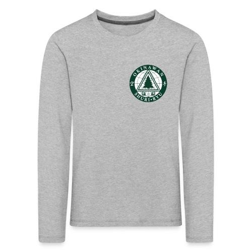 Klubmærke Traditionel placering - Børne premium T-shirt med lange ærmer