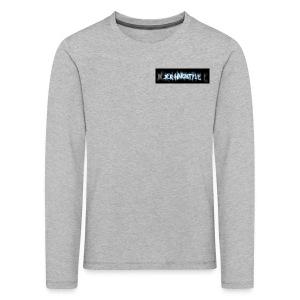 DerHardstyle.ch Kleines Logo - Kinder Premium Langarmshirt