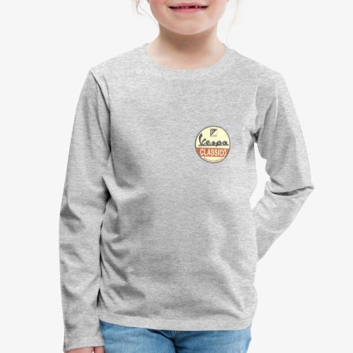 Vintage Logo - Kinder Premium Langarmshirt
