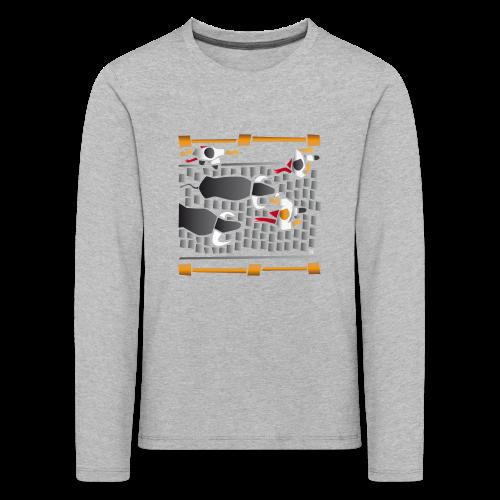 El encierro - Camiseta de manga larga premium niño