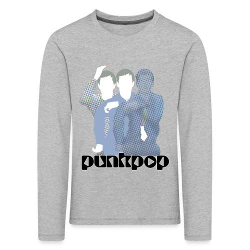 JD Post Punk PunkPop - Maglietta Premium a manica lunga per bambini