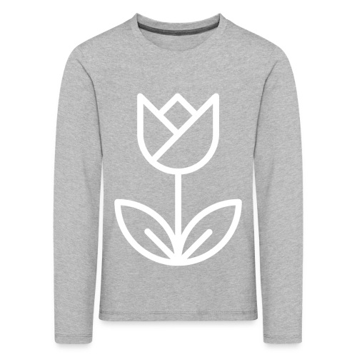 Tulip white png - Kids' Premium Longsleeve Shirt