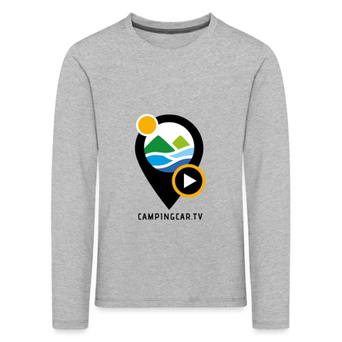 Picto CCTV Black - T-shirt manches longues Premium Enfant