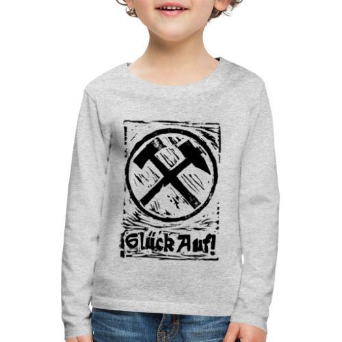 GlueckAuf - Kinder Premium Langarmshirt