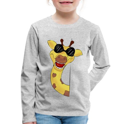 Giraffa - Maglietta Premium a manica lunga per bambini