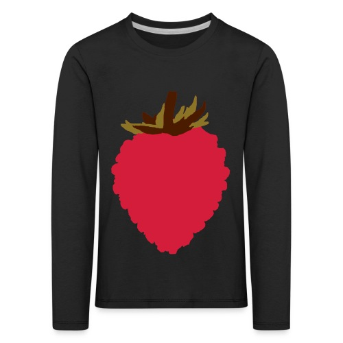 Wild Strawberry - Kids' Premium Longsleeve Shirt