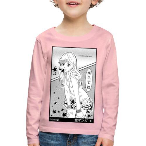 I wish you the best - Kids' Premium Longsleeve Shirt