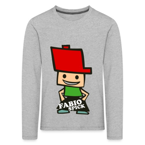 Fabio Spick - Kinder Premium Langarmshirt
