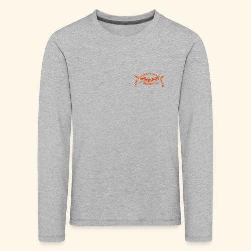 Tornfalkens scoutkår Logo - Långärmad premium-T-shirt barn