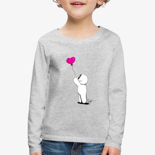 BallonSnap Rose - T-shirt manches longues Premium Enfant