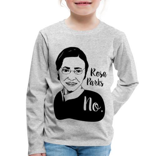 Rosa Parks - Maglietta Premium a manica lunga per bambini