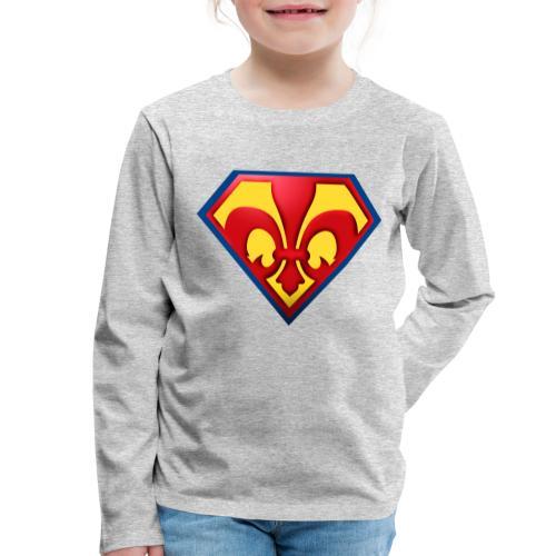 Fabulous Scout - Lilie im Wappen - Kinder Premium Langarmshirt