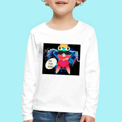 I 'm the king - T-shirt manches longues Premium Enfant