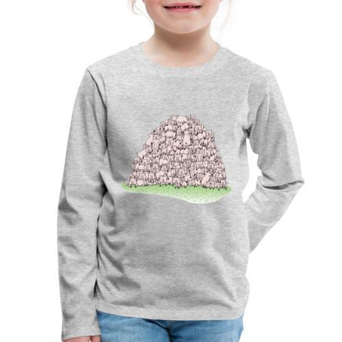 Der Sauhaufen - Kinder Premium Langarmshirt