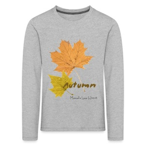 Streetworker art by Marcello Luce - autumn 2018 - Kinder Premium Langarmshirt