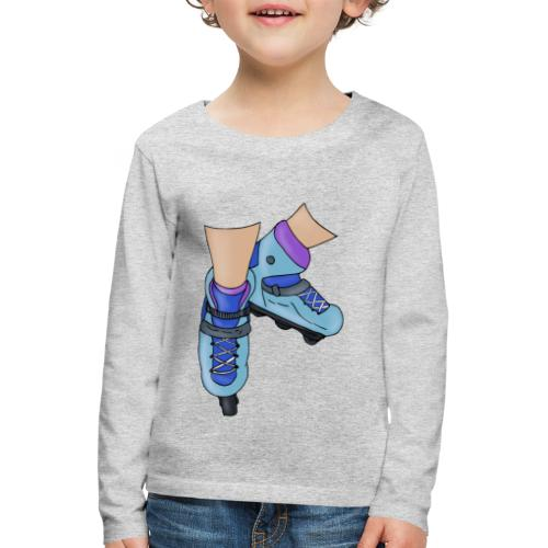 Rollerblade - Maglietta Premium a manica lunga per bambini