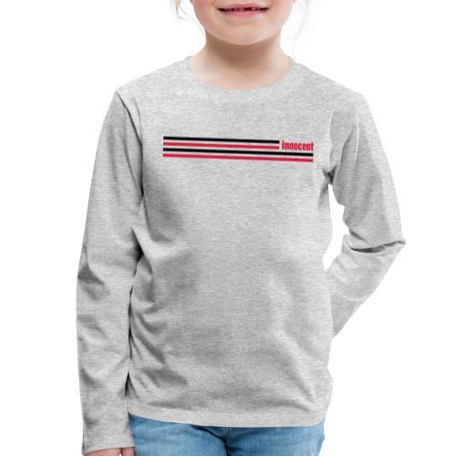 innocent stripes - Kinder Premium Langarmshirt
