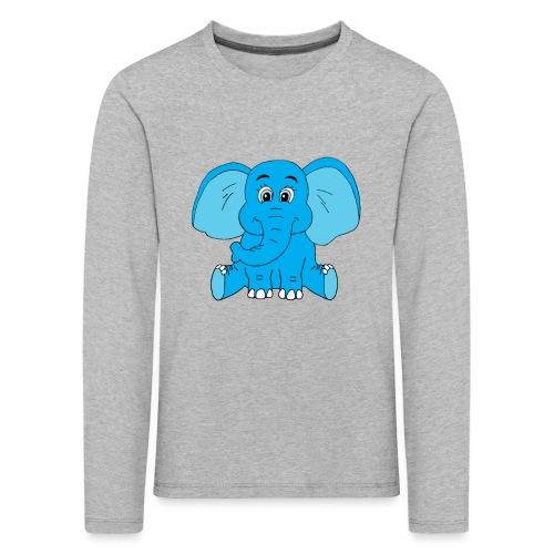 Baby Elefant - Kinder Premium Langarmshirt