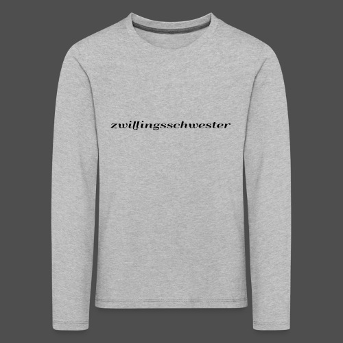 twin sister - Kids' Premium Longsleeve Shirt