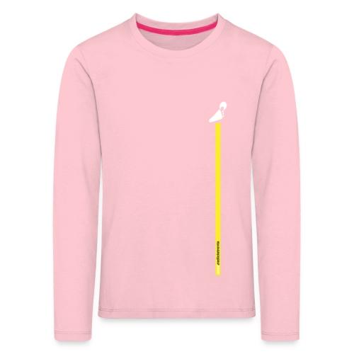 yellow line - Maglietta Premium a manica lunga per bambini