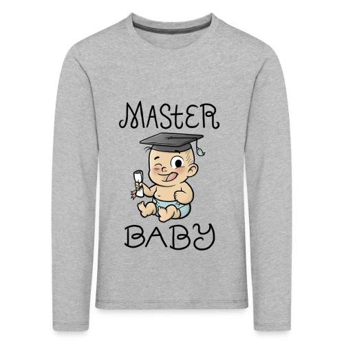 Master Baby - Kinder Premium Langarmshirt