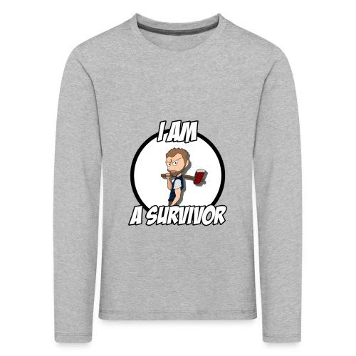 Game Survivant - T-shirt manches longues Premium Enfant