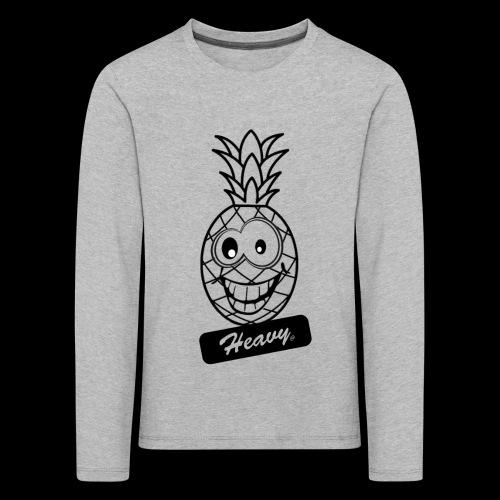 Design Ananas Heavy - T-shirt manches longues Premium Enfant