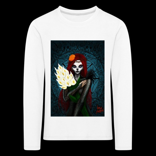Death and lillies - Kids' Premium Longsleeve Shirt