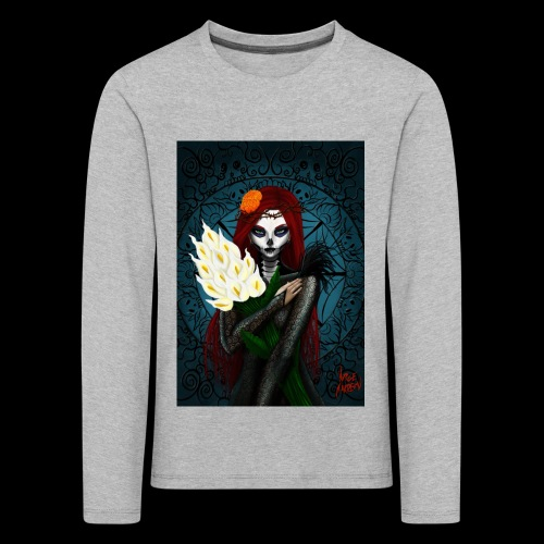 Death and lillies - Kids' Premium Longsleeve Shirt