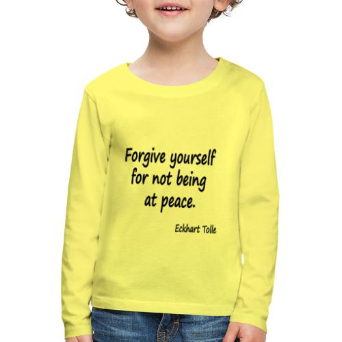 Forgive Yourself - Kids' Premium Longsleeve Shirt