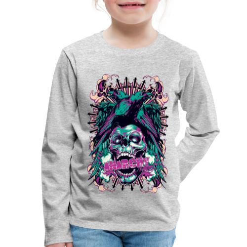 Anarchy - Camiseta de manga larga premium niño